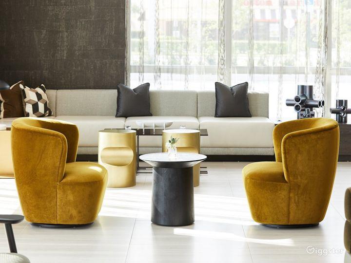 An Elegant Hotel Lounge in Miami Photo 2