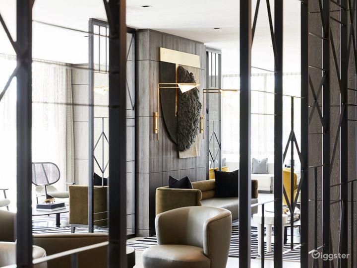 An Elegant Hotel Lounge in Miami Photo 3