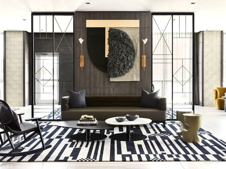 An Elegant Hotel Lounge in Miami Photo 5