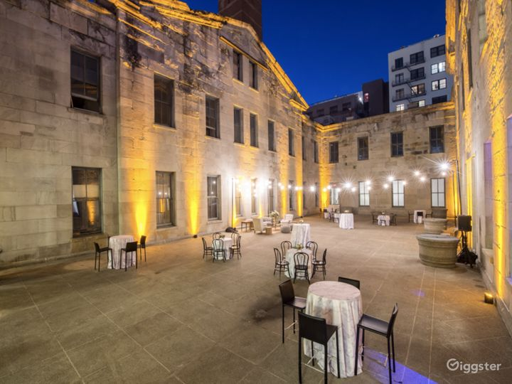 4000 sq. ft. Stunning Historic Courtyard