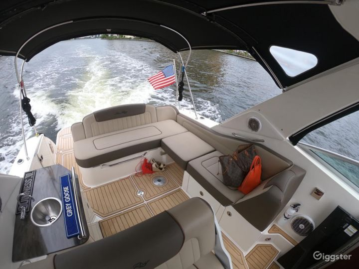Captivating 35FT Sea Ray Marina Party Boat Space Events Photo 4