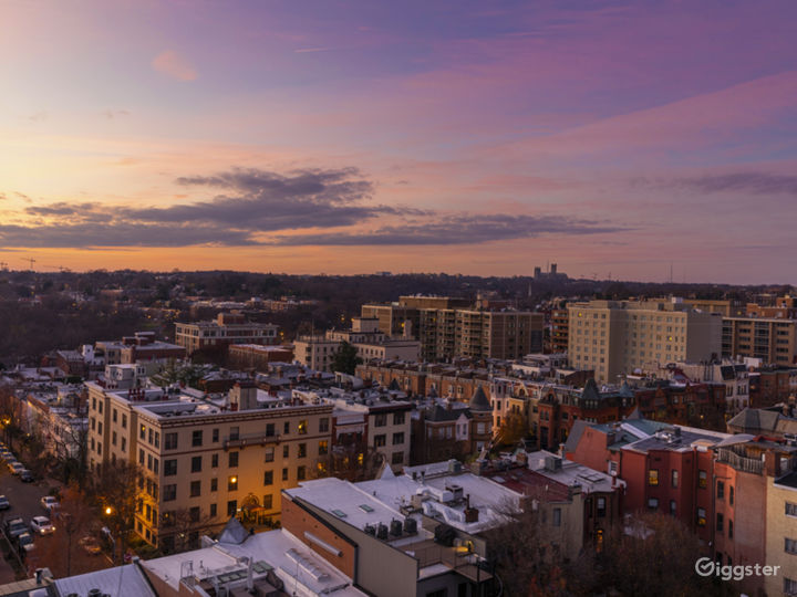 Cathedral and Sunset city views