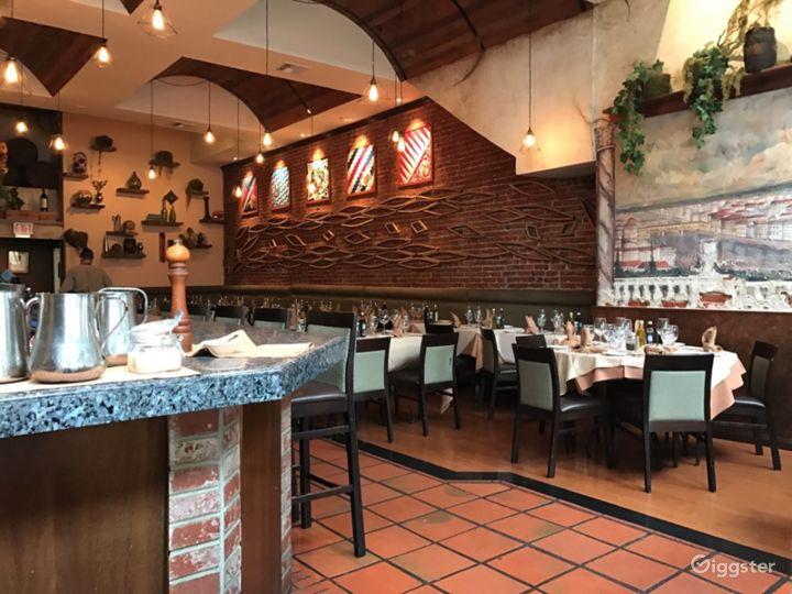 Italian Space in San Diego's Historic Gaslamp