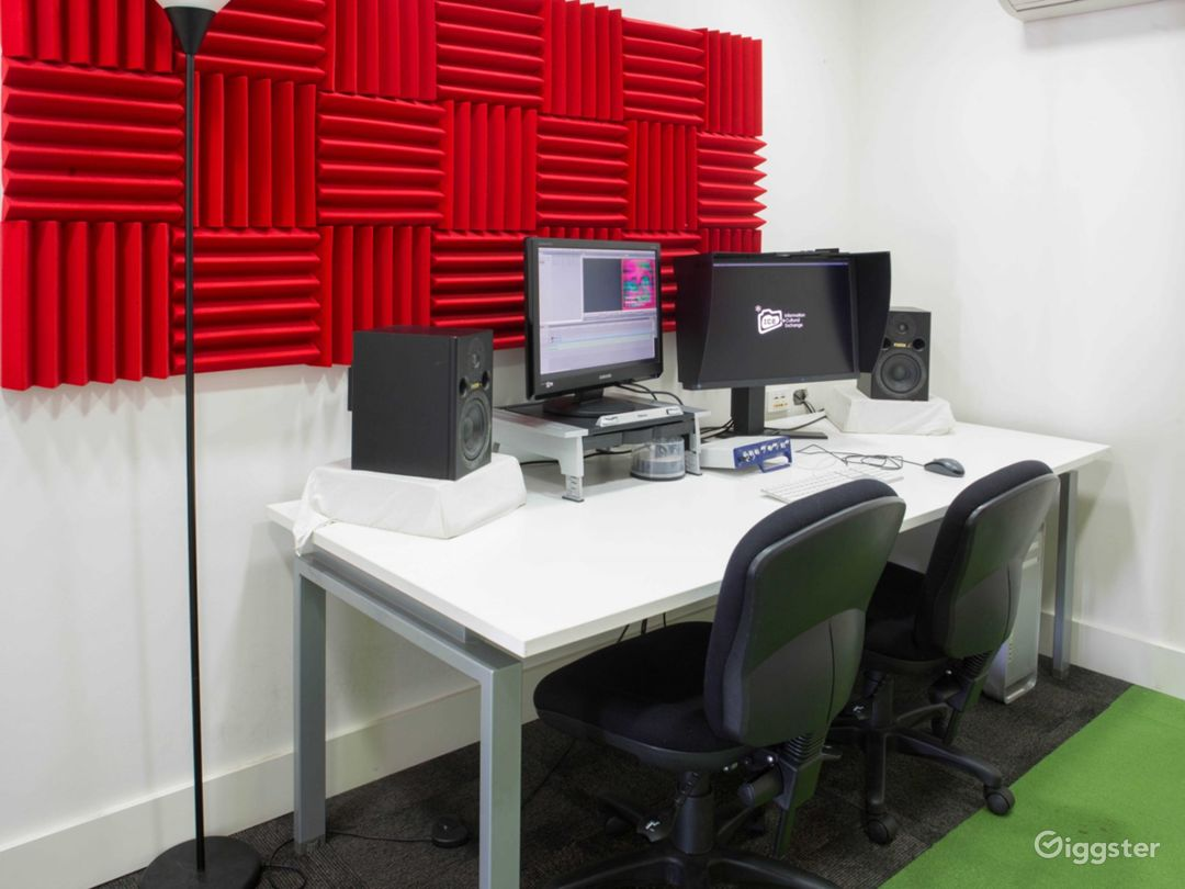 Video Editing Room for Projects Photo 1