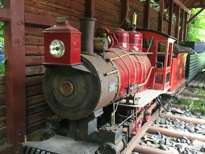 American 4-0-0 Steam train