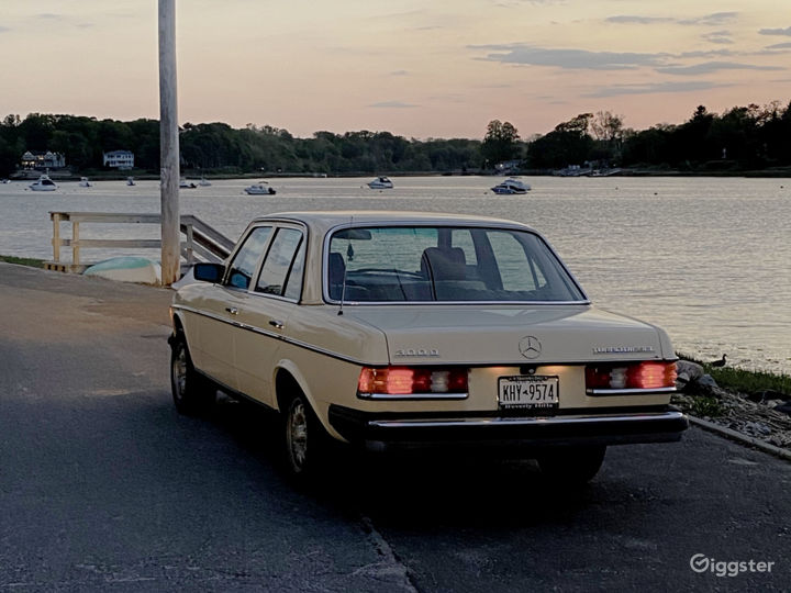 Classic 1982 Mercedes-Benz 300d Available for Rent Photo 5