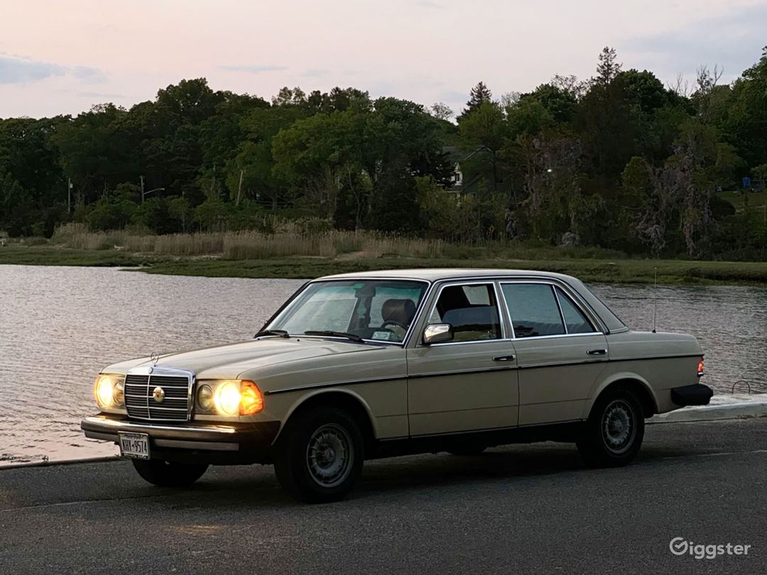 Classic 1982 Mercedes-Benz 300d Available for Rent Photo 1