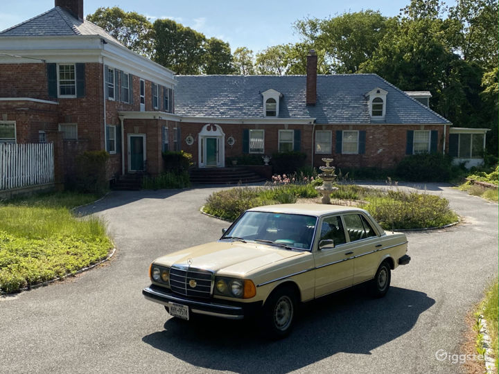 Classic 1982 Mercedes-Benz 300d Available for Rent Photo 4