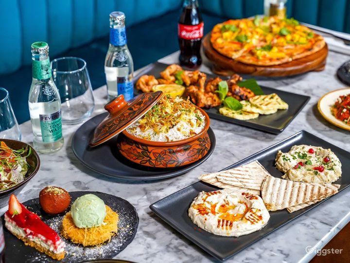 Spacious Restaurant with Mediterranean Design   Photo 5