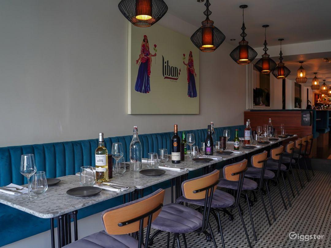 Spacious Restaurant with Mediterranean Design   Photo 1