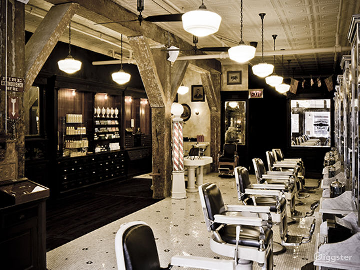 Traditional mens barber shop: Location 5011 Photo 5