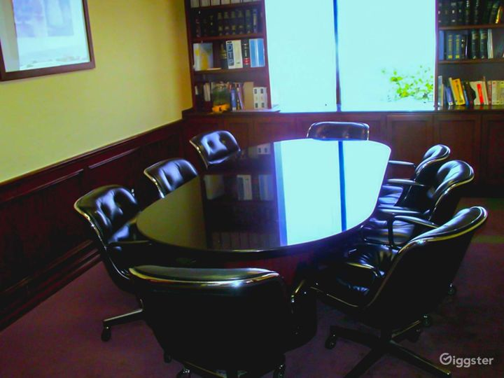 Light-filled Conference Room Photo 5