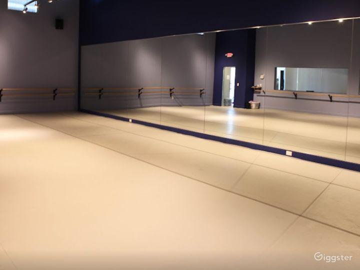 Dance Studio 3 with Light Harlequin Marley Floor Photo 3