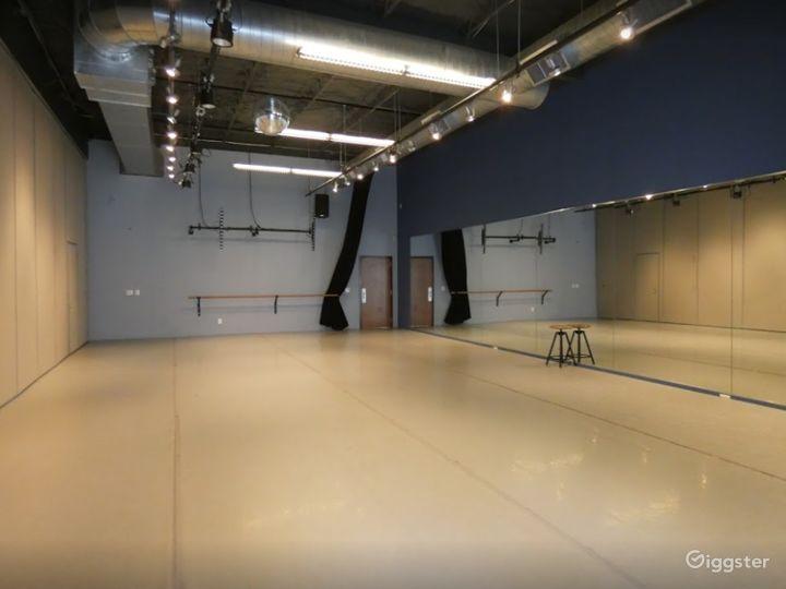 Dance Studio 3 with Light Harlequin Marley Floor Photo 5
