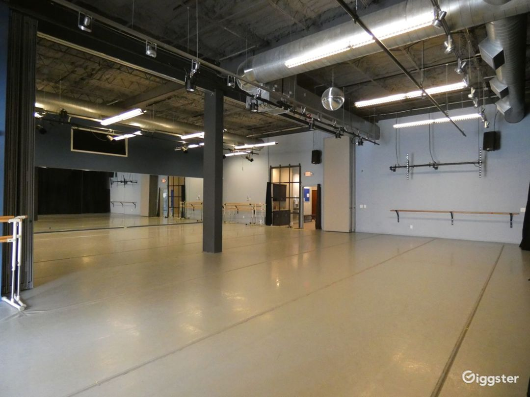 Dance Studio 3 with Light Harlequin Marley Floor Photo 1