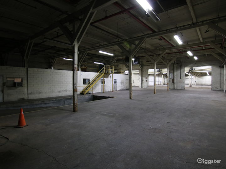Raw Industrial Warehouse in Sunset Park New York Rental