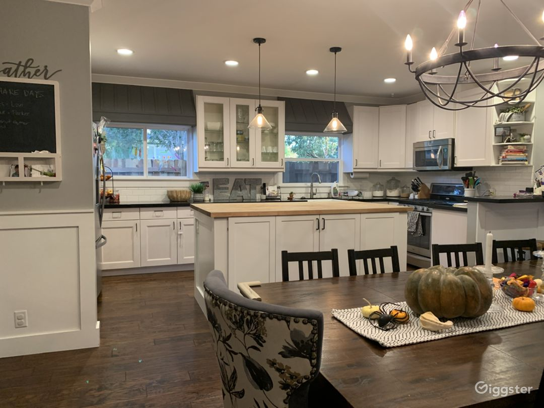 Kitchen/Dining Room (Open Concept)