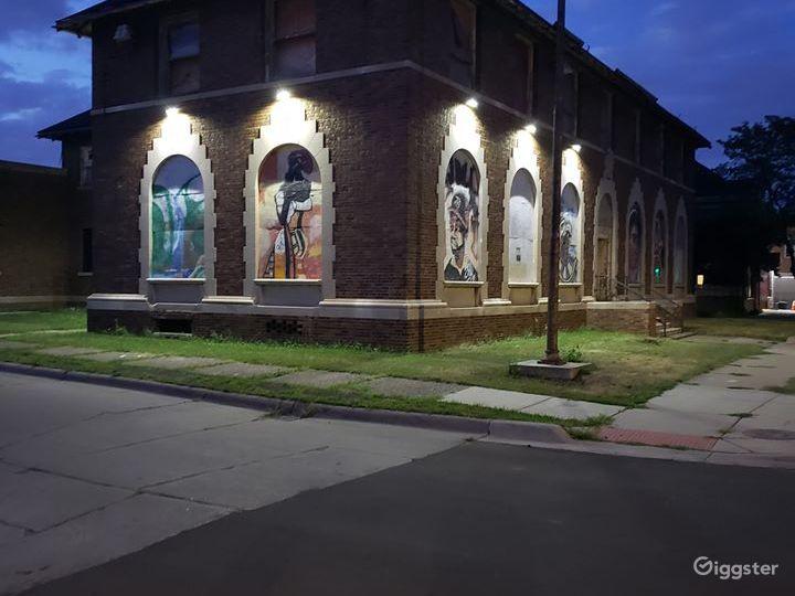 Former Detroit Police Dept. 6th Precinct Building