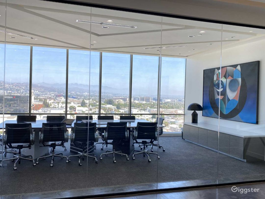Spacious Conference Room in Beverly Hills Photo 1