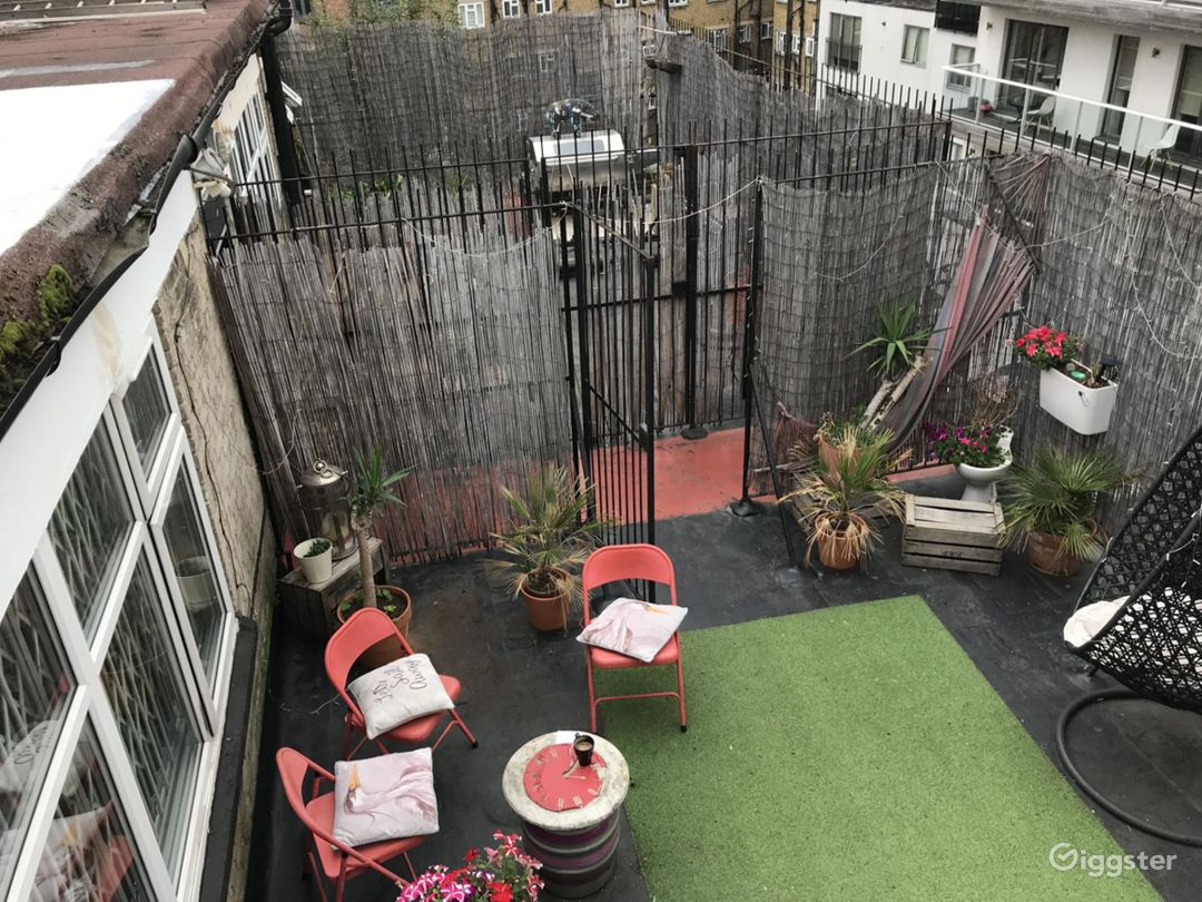 Bamboo Roof Terrace in London Photo 1