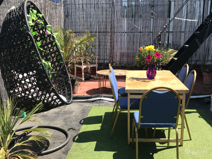 Bamboo Roof Terrace in London Photo 2