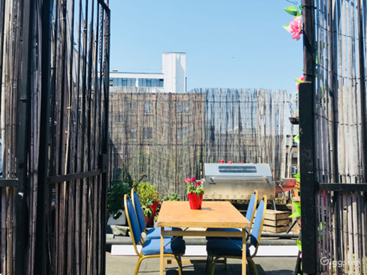 Bamboo Roof Terrace in London Photo 3