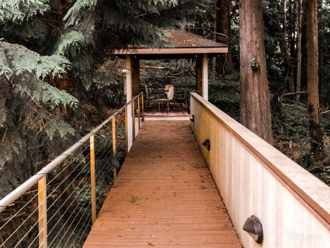 Walkway to gazebo