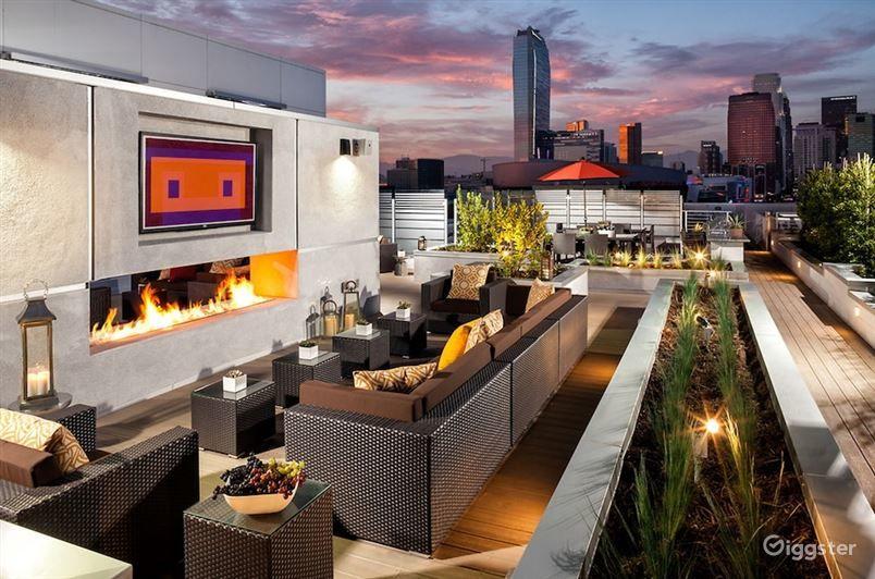 Wonderful Rooftop Terrace in LA Photo 1