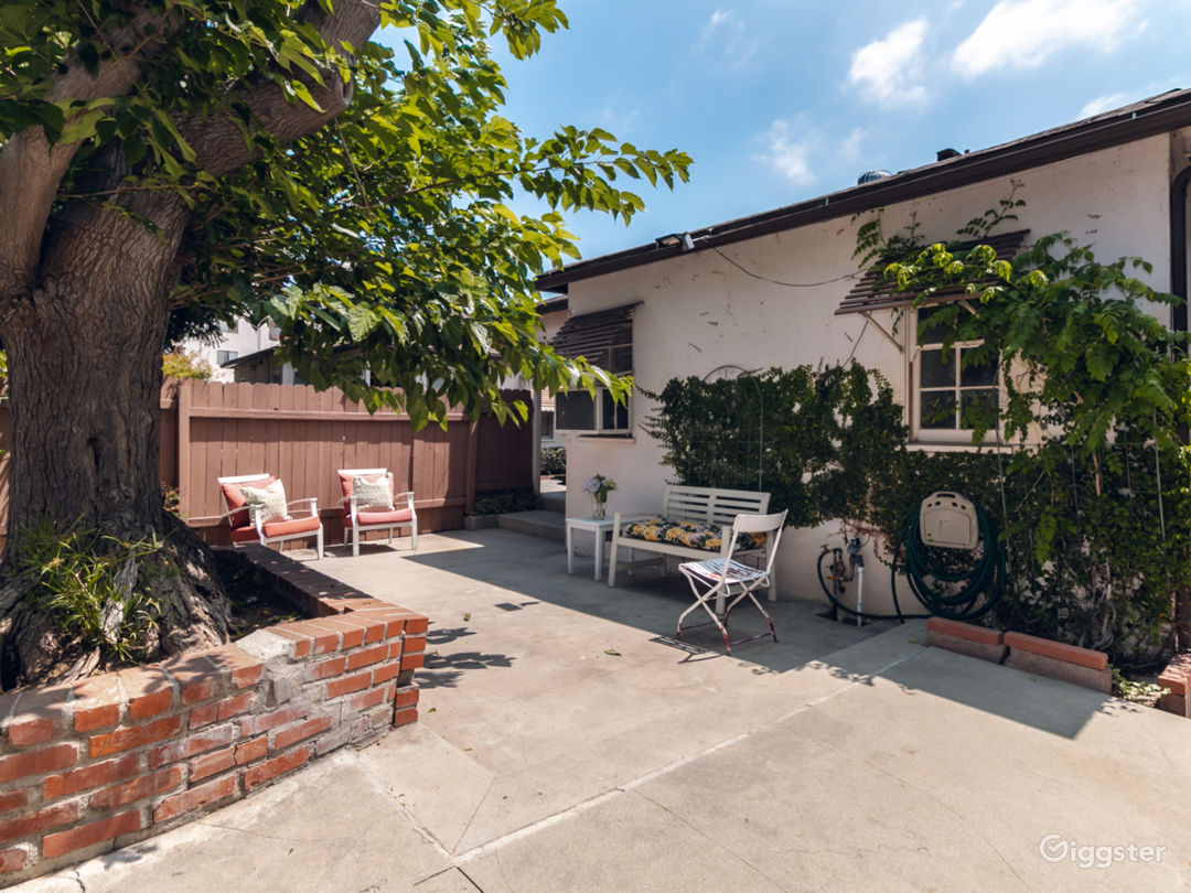 Fully fenced and secure patio for this home only