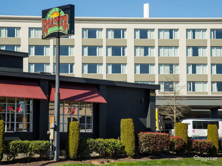 Americana hotel exterior