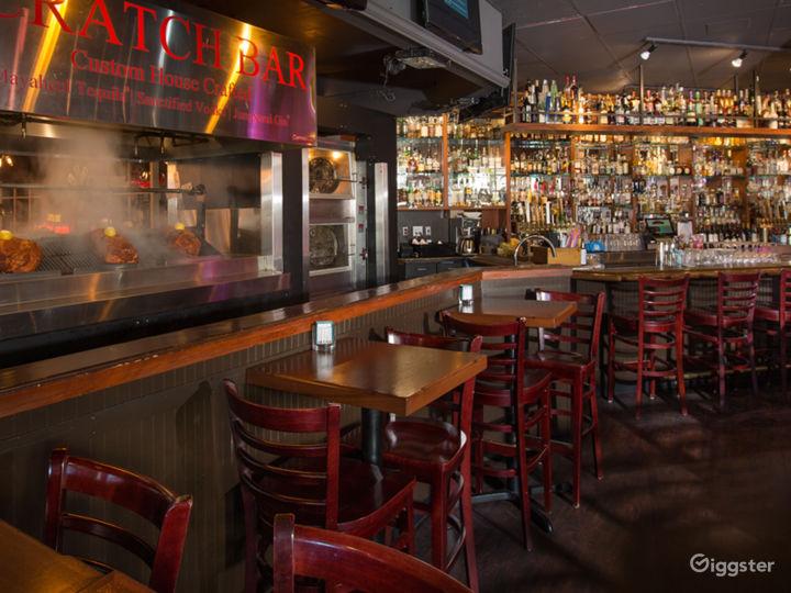 Sharps Roasthouse featuring an Americana Bar