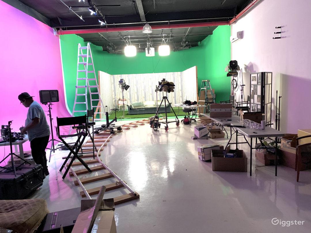 Spacious Studio A w/ Cyc Stage Photo 1