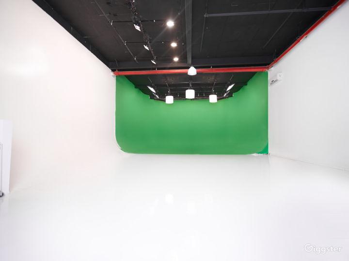 Spacious Studio A w/ Cyc Stage Photo 2