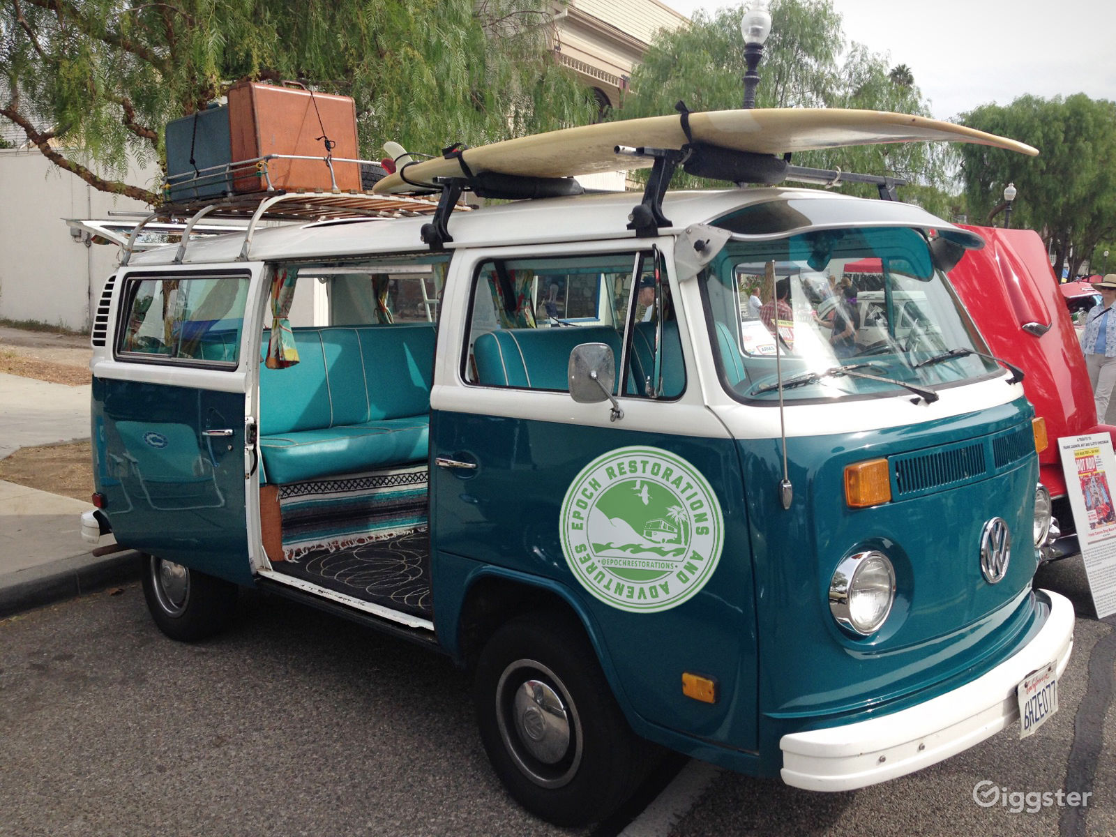 Epoch Restorations and Adventures 1979 VW Bus. Vintage / Classic van rental: Los Angeles, Orange County, Ventura County, Santa Barbara, San Diego.