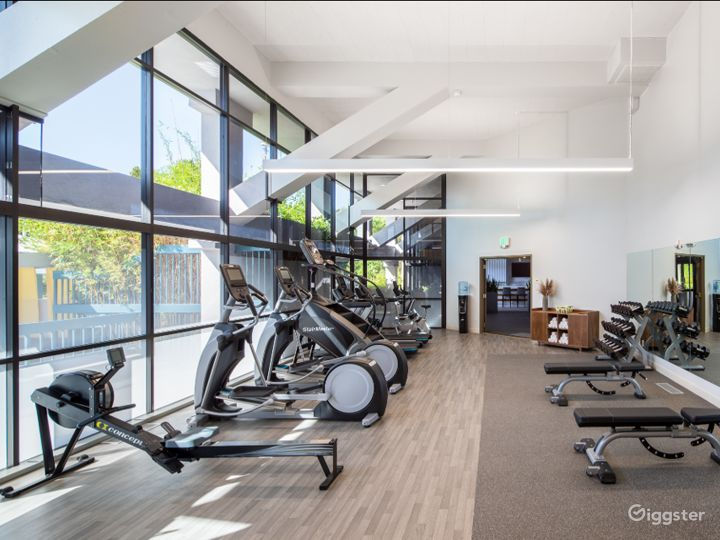 A Modern Gym with Equipment in Sunnyvale Photo 5