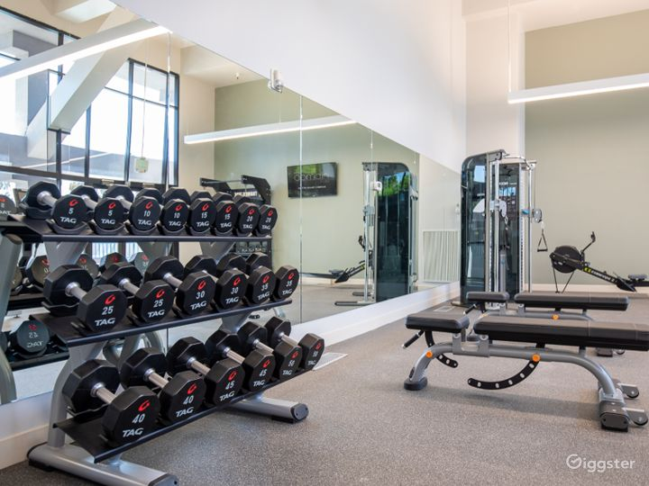A Modern Gym with Equipment in Sunnyvale Photo 4