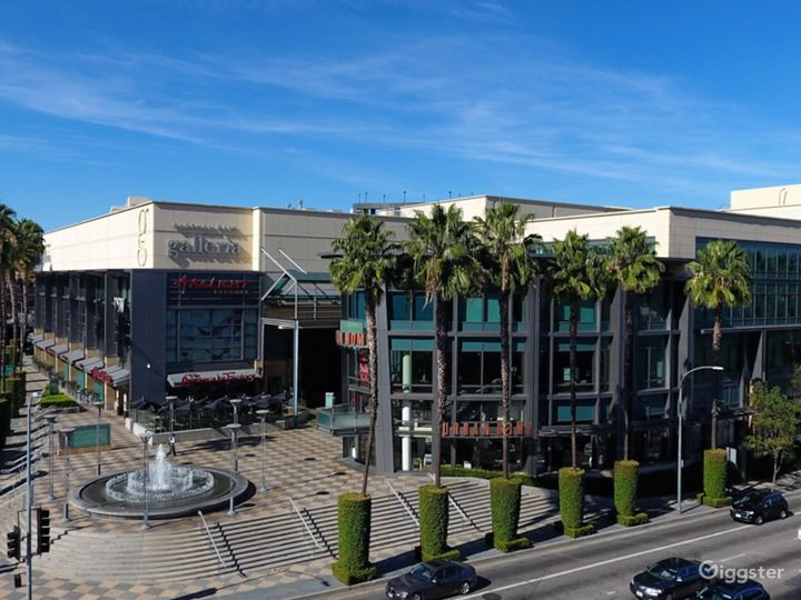 We are located in the Sherman Oaks Galleria