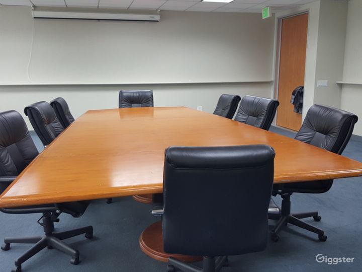 Hepburn room setup conference room style