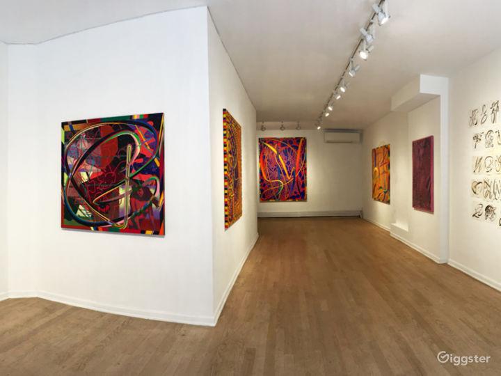 Wonderful Gallery in Bustling LES
