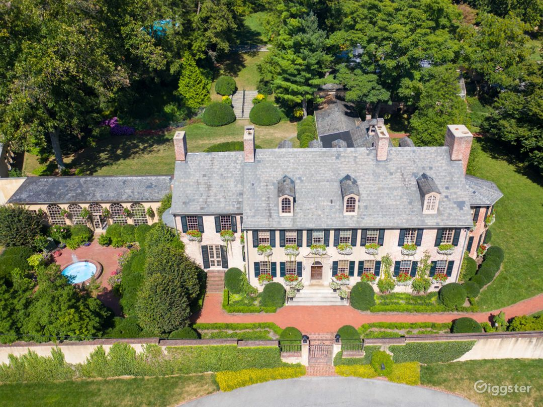 Historic Estate and Exquisite Gardens in Lancaster Photo 1