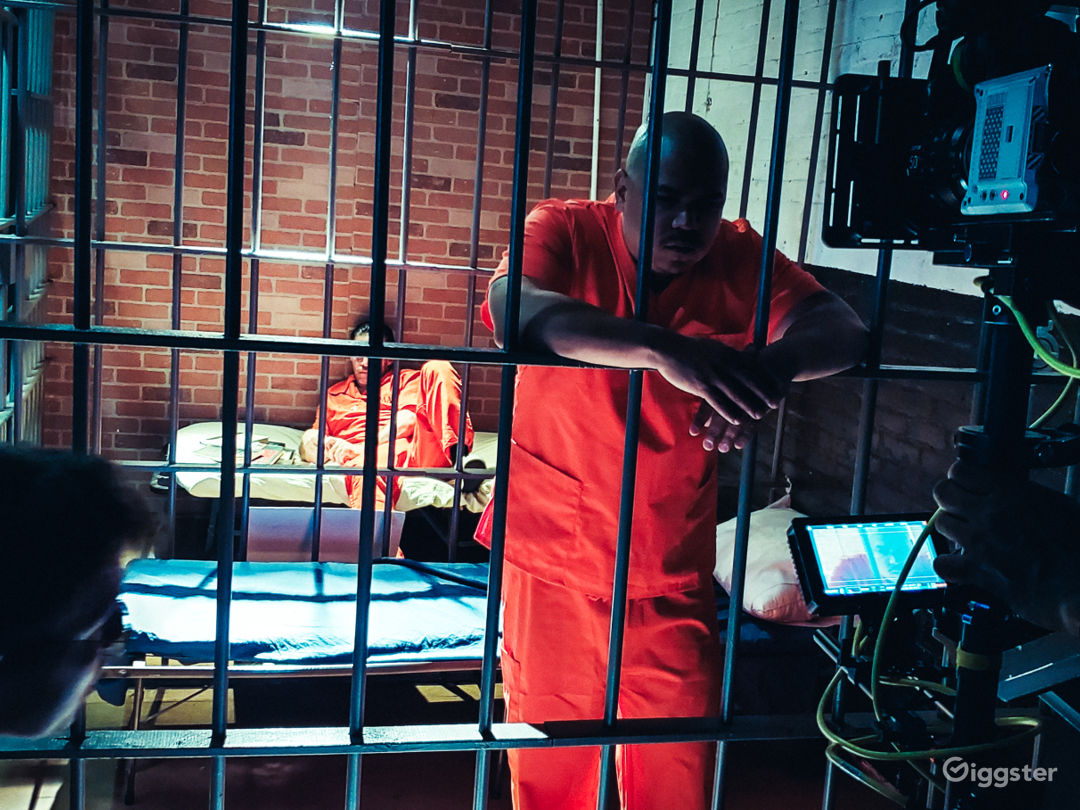 WORKING JAIL CELLS WITH 2 8'X 6' CELLS WITH COTS  Photo 1
