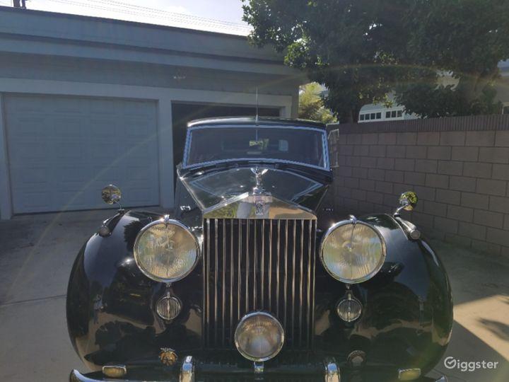 Classic 1953 Rolls-Royce Silver Wraith