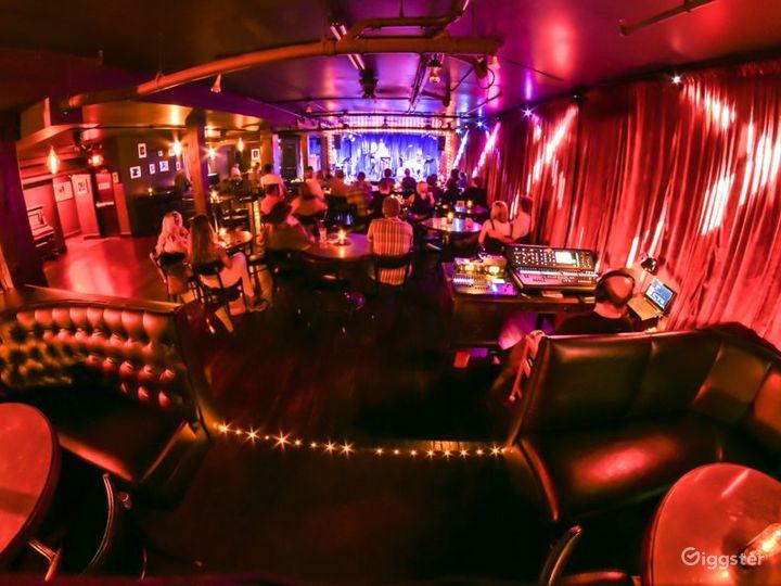 Speakeasy Style Jazz Club