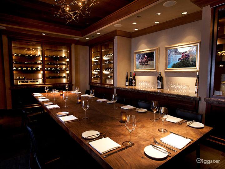 Beautiful Carolina Room Restaurant in Anaheim