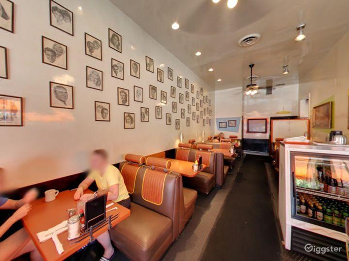 Unique Funky Retro Diner in Vermont Avenue Photo 4