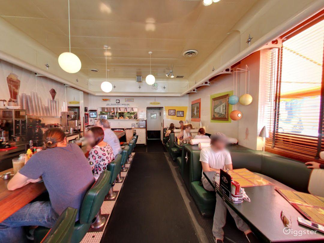 Unique Funky Retro Diner in Vermont Avenue Photo 1