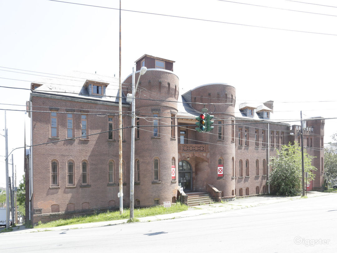 Former Radio Station/Armory Building Photo 1