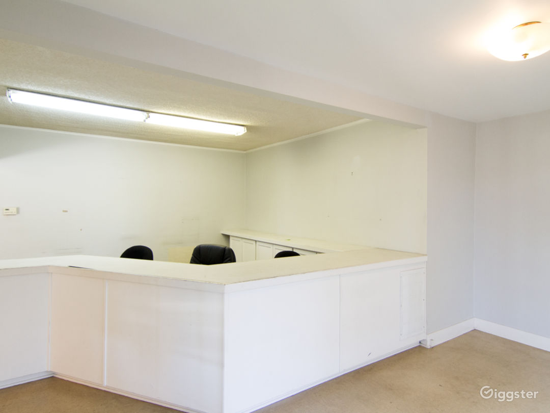 Unfurnished Office Space with Basement and Garage Photo 3