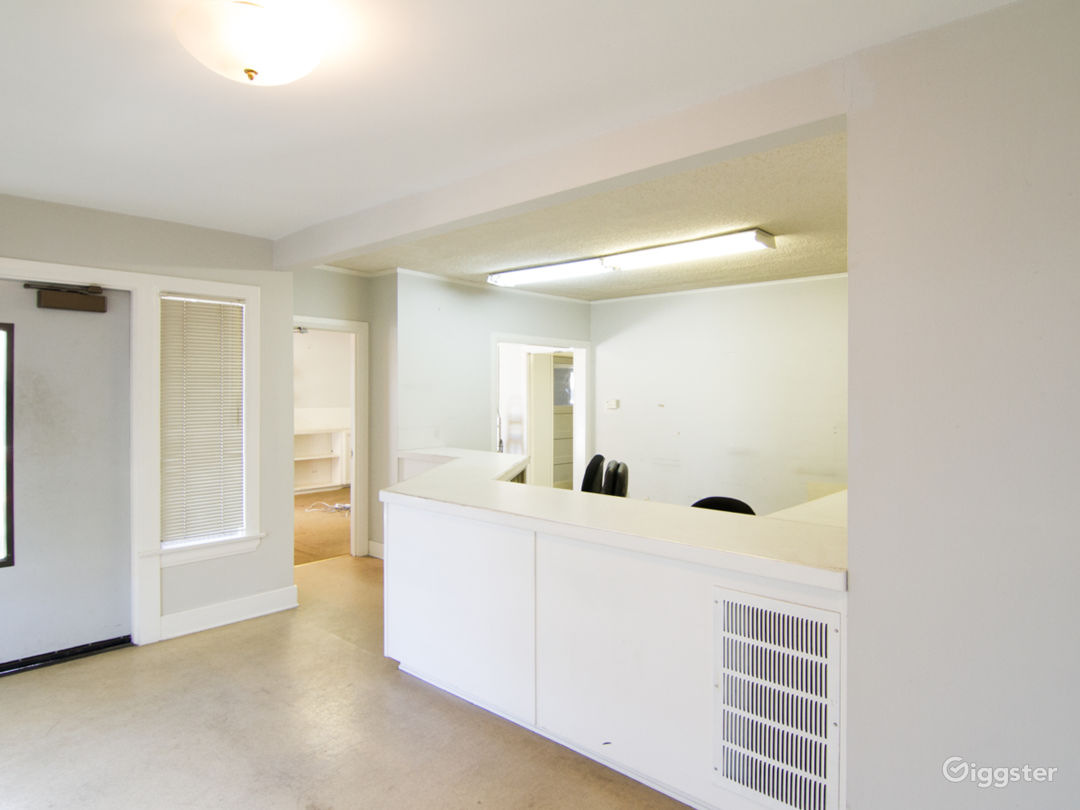 Unfurnished Office Space with Basement and Garage Photo 1