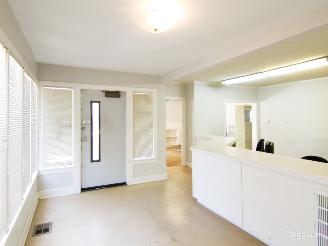 Unfurnished Office Space with Basement and Garage Photo 2